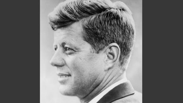 On a September 20, 1963, visit to New York that includes an address to the United Nations General Assembly on the nuclear test-ban treaty, President John F. Kennedy takes time out to express his appreciation to Americans working at the United Nations.