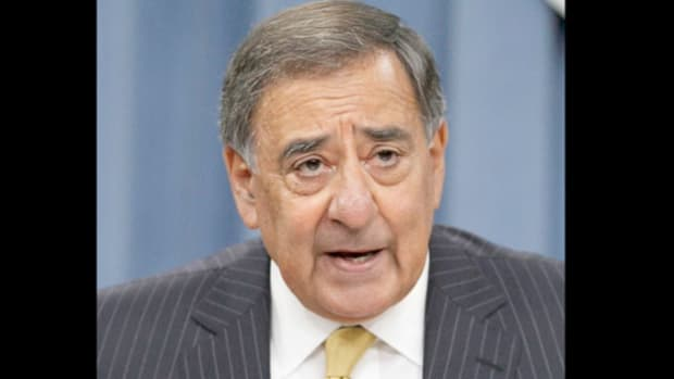 On September 20, 2011, the Don't Ask, Don't Tell law, which for 18 years banned gays from serving openly in the military, came to an end. In a press conference, Defense Secretary Leon Panetta welcomes the new era.