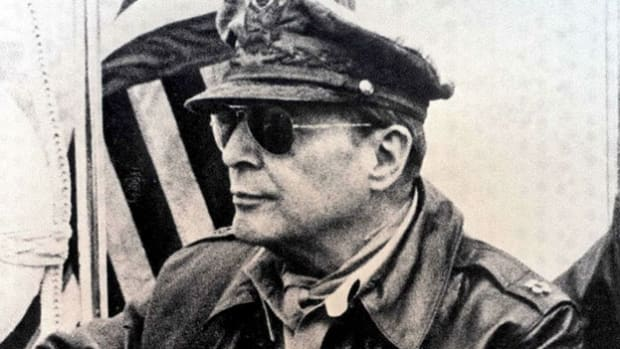 On January 21, 1951, U.S. Gen. Douglas MacArthur, commander of United Nations forces in Korea, offers reassurance to the public that South Korea would not fall to communist forces.