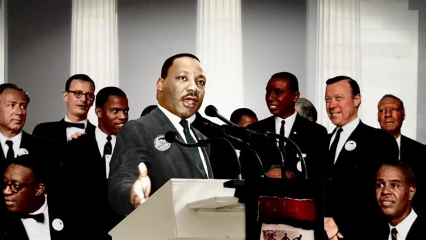 "Find out how Martin Luther King's ""I Have a Dream"" speech became an impromptu addition to the March on Washington."