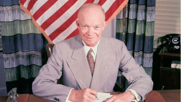 On August 12, 1960, NASA launched the world's first satellite into orbit. A message previously recorded by President Eisenhower was bounced off the Echo 1  and picked up by radio operators across the nation.