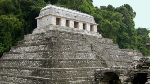 The Mayan King Pacal built a complex tomb that has lasted centuries.
