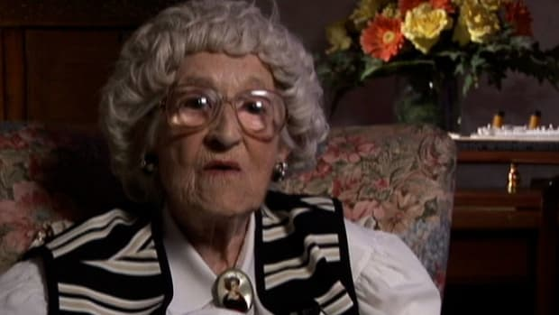 Millvina Dean, inspiration for the movie Titanic, shares her survival story.
