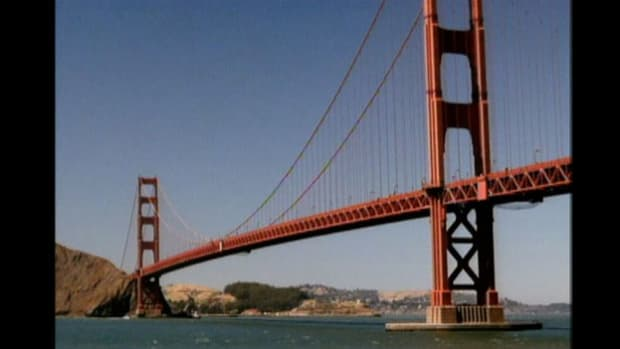Why did some people initially think the Golden Gate Bridge was a dangerous idea?