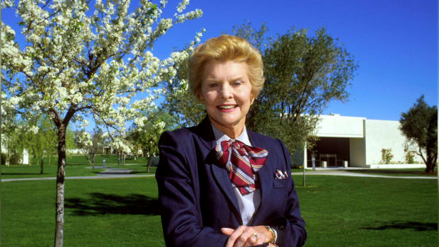 Betty Ford's pragmatic and empathetic approach to the duties of First Lady cemented her place in the hearts of the American people. Learn more about her life and ideals in this video.