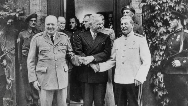 Learn how the Truman Doctrine marked the beginning of the Cold War, how it shaped America's attitude towards communism and how it shifted its foreign policy on interventionism with its involvement in the Mediterranean after World War II.