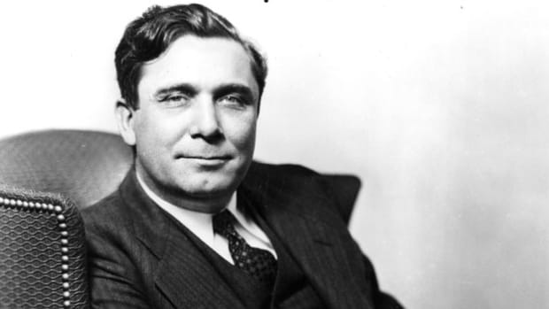 Soon after his electoral defeat in 1940, Republican Wendell Willkie embarked on a new campaign to awaken America from its isolationist slumber. In a speech on July 23, 1941, he urges unlimited aid to Britain in its struggle against Nazi Germany.