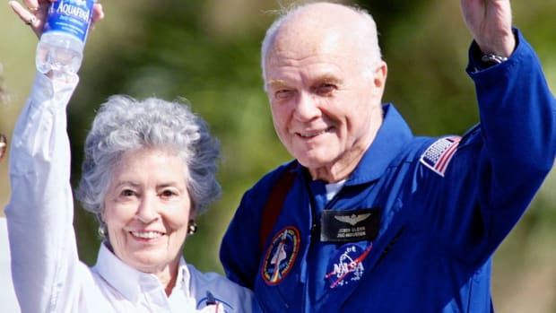 HISTORY honors astronaut and former Ohio senator John Glenn, who died on December 8, 2016 at the age of 95.