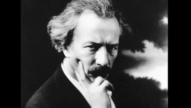In a public service broadcast on May 16, 1941, Ignace Jan Paderewski, the exiled former prime minister of Poland, urges Americans to buy U.S. savings bonds to fulfill a moral obligation in helping with the war effort