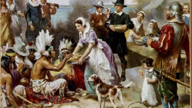 Find out which traditional recipes weren't served at the first Thanksgiving celebration