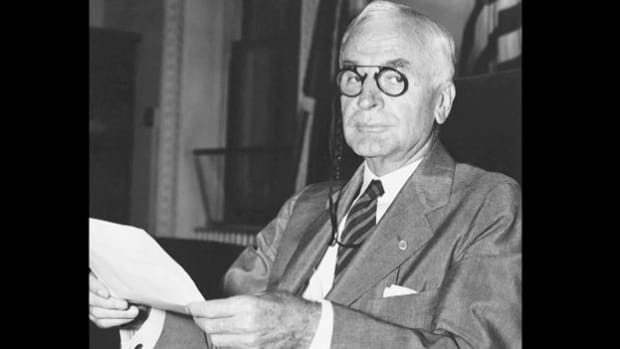 In a speech delivered on February 6, 1938, Secretary of State Cordell Hull defends the reciprocal trade program he helped pass in 1934, stressing the urgency of continuing the plan as a peacekeeping measure.