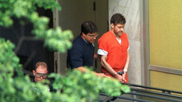 """On this day in 1998, in a Sacramento, California, courtroom, Theodore J. Kaczynski pleads guilty to all federal charges against him, acknowledging his responsibility for a 17-year campaign of package bombings attributed to the """"Unabomber."""""""