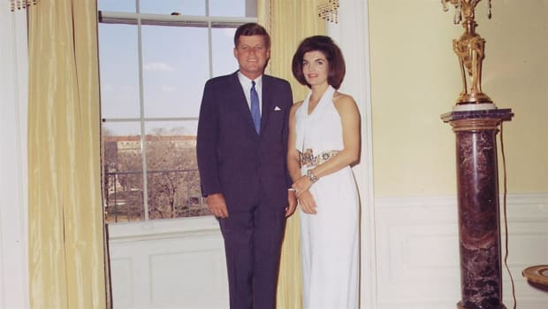 Jackie Kennedy epitomized the youth and glamour of the Kennedy family.