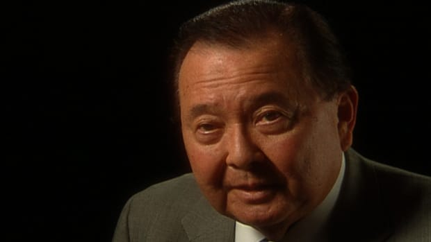 Senator Daniel Inouye fought to prove his American patriotism.