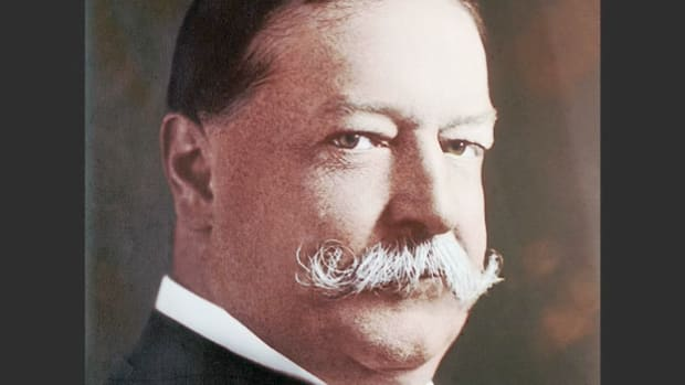 "In Hot Springs, Virginia, on August 5, 1908, President William Howard Taft addresses the importance of healthy agriculture to the economic well-being of the nation in what came to be known as his Farmer and the Republican"" speech."