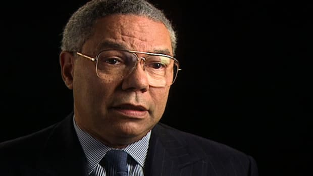 Colin Powell reflects on his experience in Vietnam and the soldiers experience.