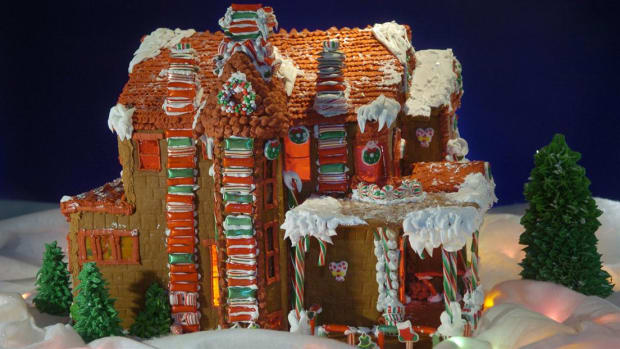 The baking of gingerbread houses has long been a Christmas tradition, and some are truly architectural wonders.