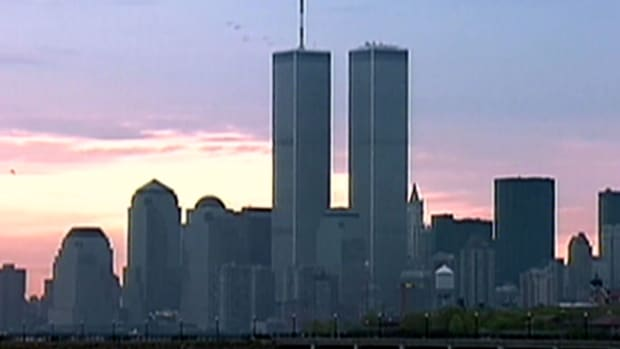 New Yorkers reflect on what the symbol of the Twin Towers meant to them and to the world.