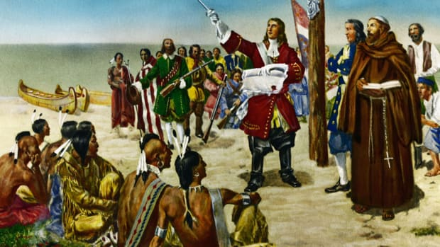 The French and Indian War saw two European imperialists go head-to-head over territory and marked the debut of the soldier who would become America's first president.