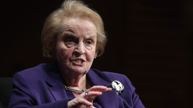 This Day in History - May 15, 1937, Madeleine Albright was born. Madeleine Albright, during the Clinton administration was the first female United States Secretary of State. Born a Jew in Czechoslovakia, Albright converted to Christianity to escape the German Nazis. To find out more about Albright, check out this video clip.