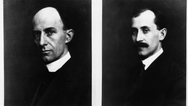 On this day in 1903, near Kitty Hawk, North Carolina, Orville and Wilbur Wright make the first successful flight in history of a self-propelled, heavier-than-air aircraft. Orville piloted the gasoline-powered, propeller-driven biplane, which stayed aloft for 12 seconds and covered 120 feet on its inaugural flight. Orville and Wilbur Wright grew up in Dayton, Ohio, and developed an interest in aviation after learning of the glider flights of the German engineer Otto Lilienthal in the 1890s. Unlike their older brothers, Orville and Wilbur did not attend college, but they possessed extraordinary technical ability and a sophisticated approach to solving problems in mechanical design. They built printing presses and in 1892 opened a bicycle sales and repair shop. Soon, they were building their own bicycles, and this experience, combined with profits from their various businesses, allowed them to pursue actively their dream of building the world's first airplane.