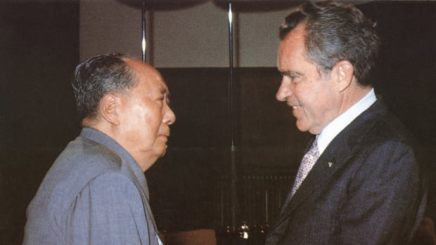 In a This Day in History video, learn that on July 15, 1971, Richard Nixon stunned the nation by stating that he would visit communist China. Nixon was a product of the Cold War and spent his career bad-mouthing everything red China did or said. But, Nixon wanted a second term and his polls were down; he hoped China would put pressure on their allies, the North Vietnamese, to end the war. Unfortunately, there was no immediate gain from the trip and the Vietnam War went on for another year and a half.
