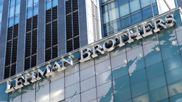 In the wake of the worst financial crisis since the Depression, ABC News reports on September 14, 2008, on the impending collapse of the giant investment bank Lehman Brothers. Alan Greenspan, former chairman of the Federal Reserve, provides further analysis.