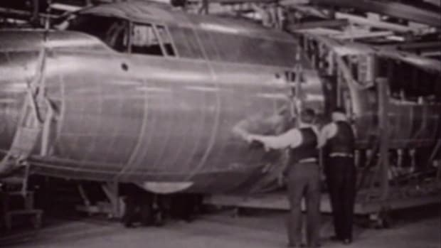During the lead-up to World War II, the Desoto branch of the Chrysler group capitalized on U.S. military expansion by producing the B-26 bomber. Find out what challenges they overcame to achieve one of the highest military acceptance rates of any plane during the war.