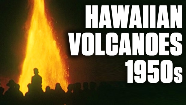 Volcanoes in Hawaii have been erupting on and off for thousands of years, and the 1950s were no exception. As you'll see, volcanic action in Hawaii was just as terrifyingly awesome in the Atomic Age as it is today.