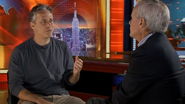 In an interview with Tom Brokaw, Jon Stewart talks about the 60's.