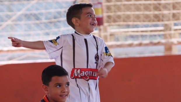 Meet Four-year-old Marco Antonio, who, despite his age has many already calling him the next Neymar.