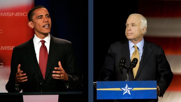 Learn about the events surrounding the historical election of 2008: how Barack Obama became the Democratic presidential contender against Hillary Clinton and how he ultimately beat John McCain to become the first black president in U.S. history.