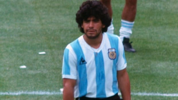 Learn about Argentina's Diego Armando Maradona—one of the greatest, and most controversial, icons in the history of the sport.