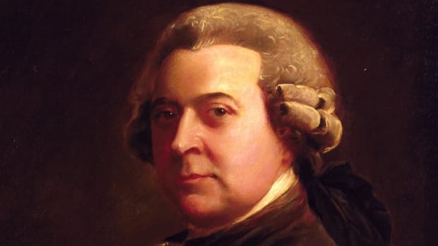 One of the most influential founding fathers of the United States, John Adams persuaded Congress to adopt the Declaration of Independence in 1776.