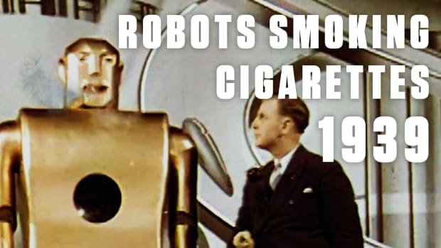 "Meant to exhibit the ""World of Tomorrow,"" the 1939 World's Fair in New York City tried to predict what life would be like beyond the 20th century. ""Elektro"" is a perfect example - a humanoid robot who could enjoy a cigarette while cracking a joke."