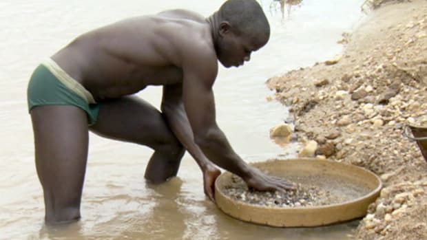 Mining for diamonds in Africa continues to be a complex issue.