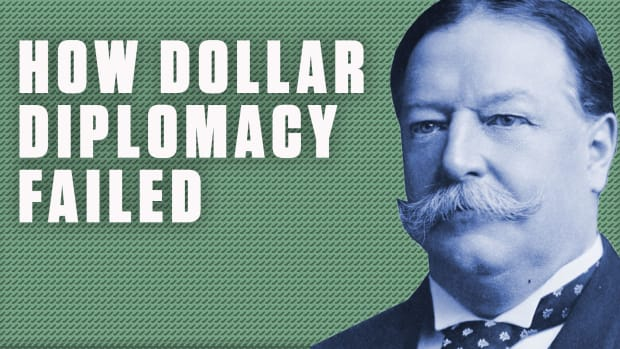 Learn what inspired President Taft to implement Dollar Diplomacy — getting Americans to invest money in other countries to maintain global influence — from 1909 to 1913. See how this policy failed in China, as well as in Central America and Mexico.
