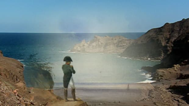 The remote island of St. Helena becomes a prison for the once powerful Napoleon Bonaparte.