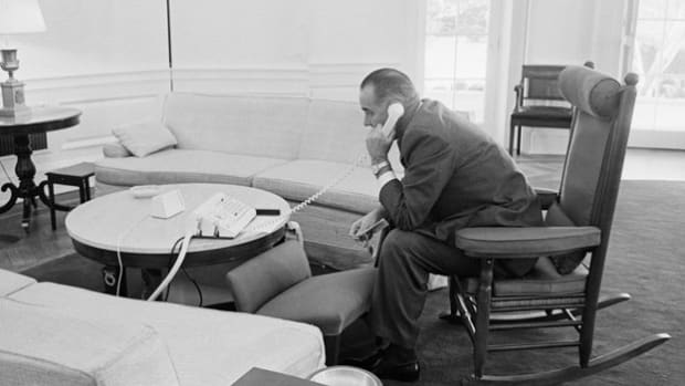 After receiving news that the bodies of three missing civil rights workers were found in Mississippi on August 4, 1964, President Lyndon B. Johnson calls Civil Rights Counselor Lee White and asks him to inform the families of the victims.