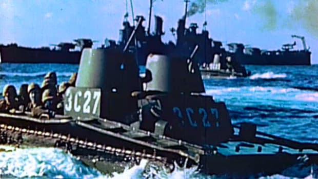 The landing vehicle tank was essential to the amphibious assaults on D-Day and throughout the Pacific theater.