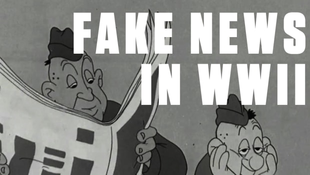 "Fake news isn't new news. During WWII, military bases were breeding grounds for false reports and gossip. In this cartoon, part of a series created for the armed forces by Theodor Geisel (a.k.a. Dr. Seuss) and the folks behind Looney Tunes, ""Private Snafu"" learns the dangers of spreading rumors the hard way."