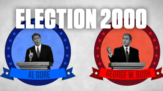 Learn how Florida ended up determining whether Al Gore or George W. Bush would win the U.S. presidency in 2000. See how a vote recount in the state led to the U.S. Supreme Court giving the election to Bush and subsequently changed voting standards.