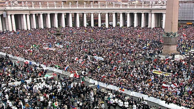 Catholic cardinals gather at the Vatican in a centuries-old ceremony to elect a new pope.