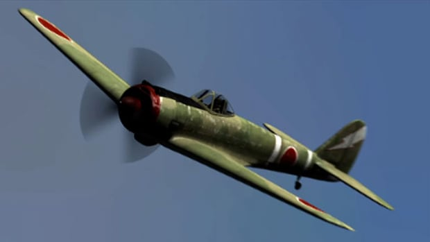 Though slower than the P-40, the KI-43 Oscar was nimble and could outmaneuver most planes. Catch a glimpse of the Japanese fighter plane that came after the Nate.
