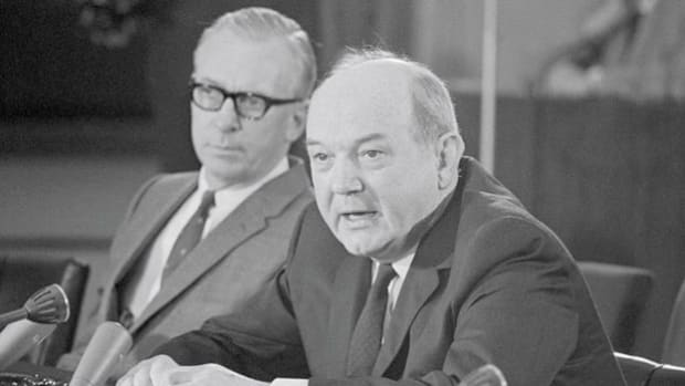 Despite North Vietnam's violation of the New Year ceasefire in 1967, Secretary of State Dean Rusk expresses hope for a peaceful resolution in Vietnam.