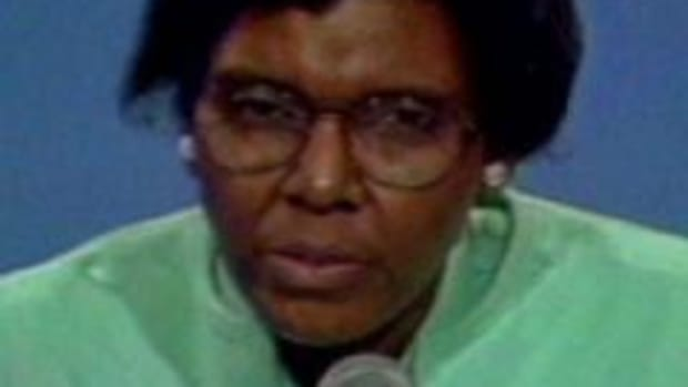 An excerpt from Barbara Jordan's keynote speech at the Democratic National Convection. Jordan was the first African-American woman ever elected to Congress from a southern state.