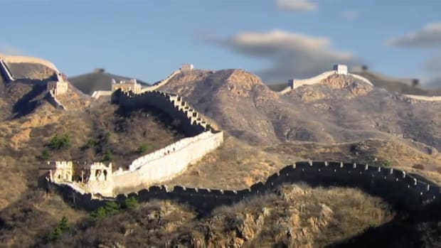 It took millennia to build, but today the Great Wall of China stands out as one of the world's most famous landmarks.