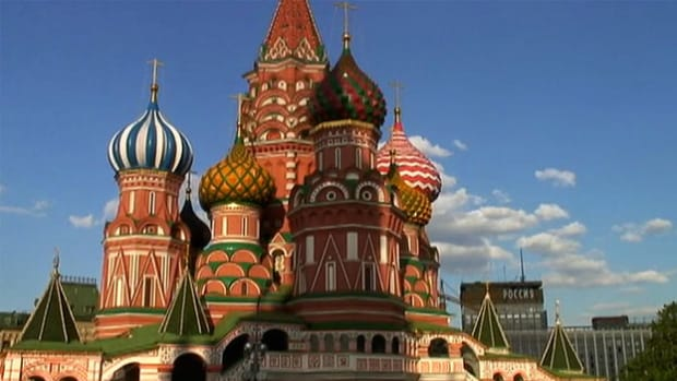 Ivan the Terrible built St. Basil's Cathedral after conquering Kazan and expanding the Russian empire.