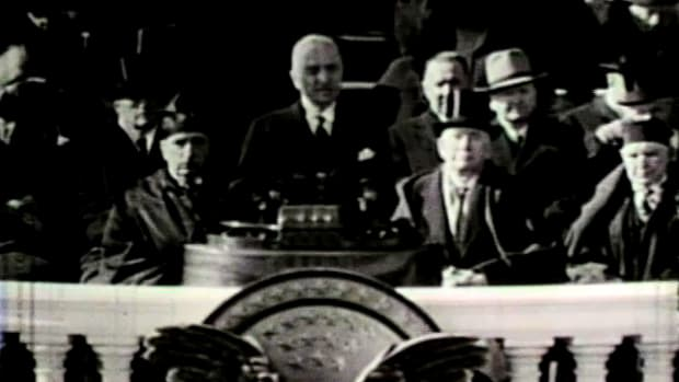 Excerpts from Harry Truman's inaugural address on Thursday, January 30, 1940.