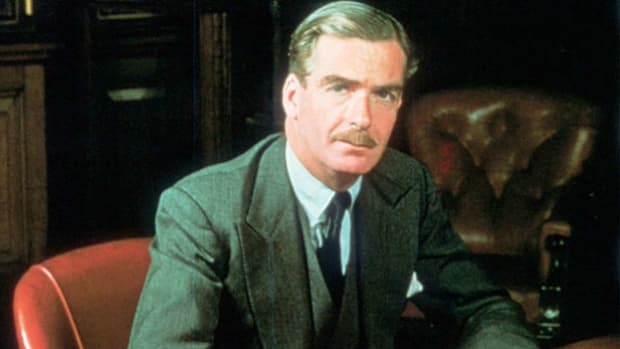 On July 29, 1940, just weeks into the Battle of Britain, British Secretary of State Robert Anthony Eden calls upon the resolve and fortitude of the people to defend against the attacks on the British mainland that will be a turning point in the war.